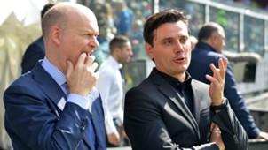 Marco Fassone, Vincenzo Montella, Milan, Serie A, 24092017