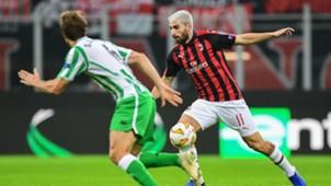 Fabio Borini Milan Betis Europa League