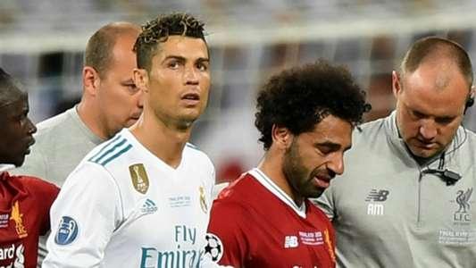 Cristiano Ronaldo Mohamed Salah Real Madrid Liverpool 2017-18
