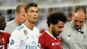 Cristiano Ronaldo Mohamed Salah Real Madrid Liverpool 2017-18