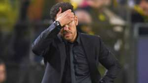 DIEGO SIMEONE ATLETICO MADRID UEFA CHAMPIONS LEAGUE 24102018