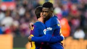 Lionel Messi Ousmane Dembele Barcelona Levante LaLiga