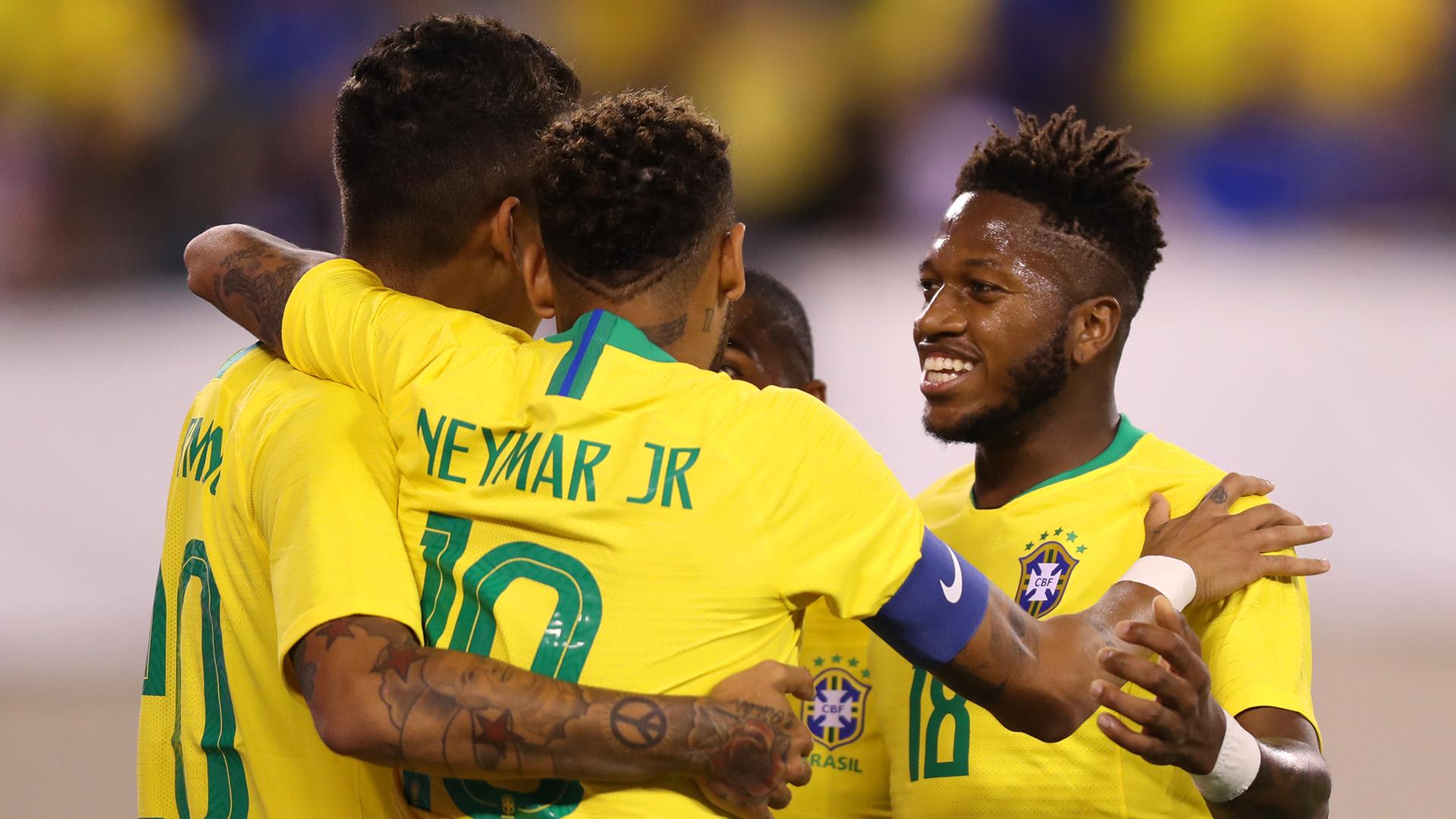 Fred Firmino Neymar USA Brazil Friendly 07092018