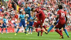 Roberto Firmino Liverpool Arsenal Premier League Aug 27
