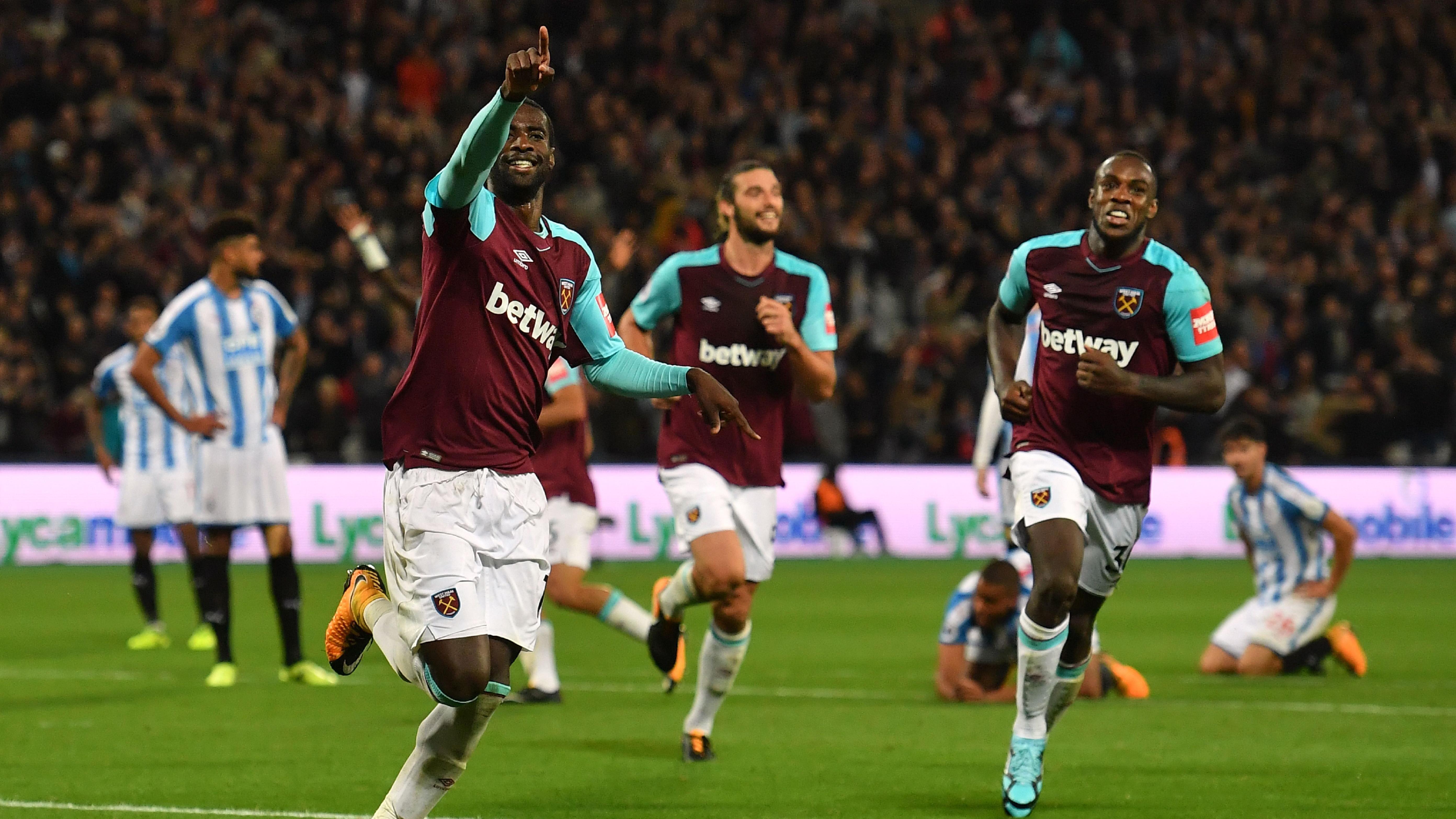 Pedro Obiang West Ham Huddersfield 120917