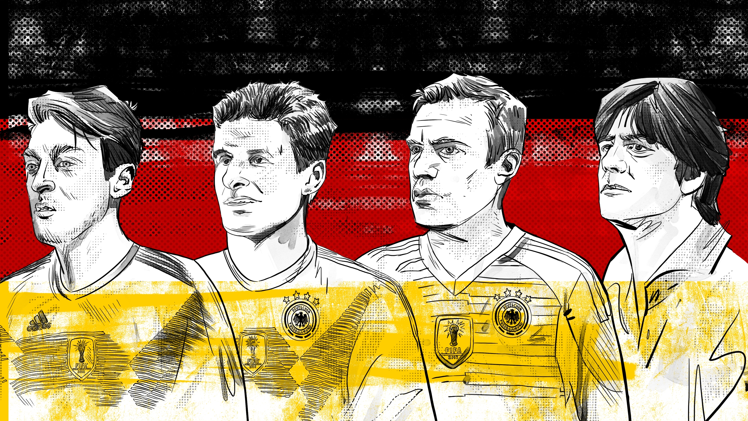 Muller and Germany's World Cup machines