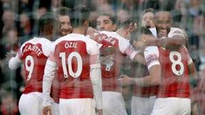 FC Arsenal Aubameyang Ramsey 23092018