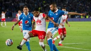 Millonario vs Santa Fe final ida 2017-II