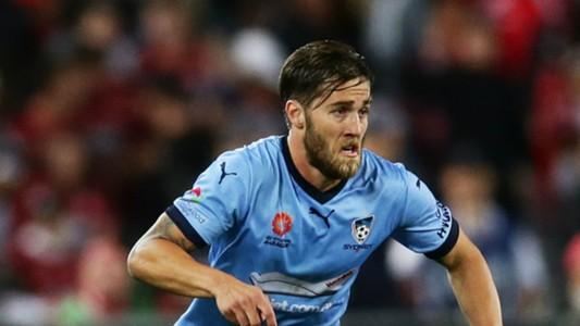 Josh Brillante Western Sydney Wanderers v Sydney FC A-League 08102016