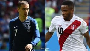 フランス対ペルー