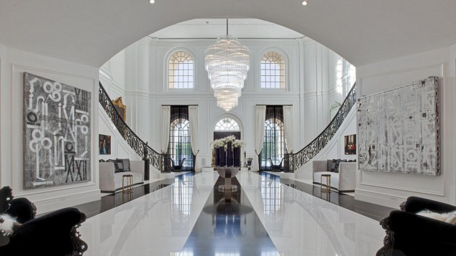 David Beckham Mansion 11122016