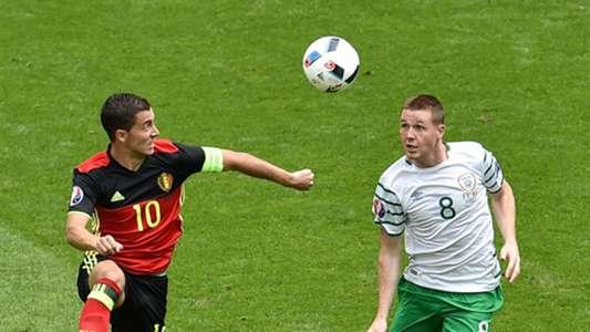Eden Hazard Belgium James McCarthy Republic of Ireland 18062016