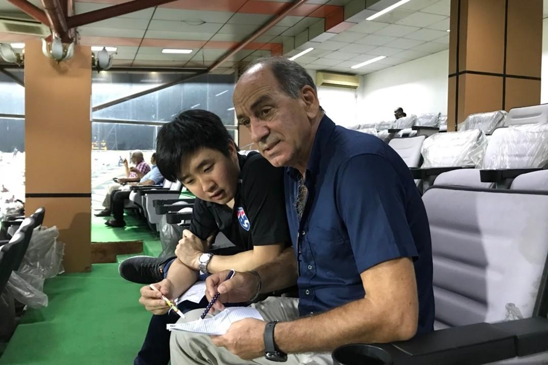 Image result for ผู้ช่วยช้างศึกบินเช็คฟอร์ม'อินเดีย'คู่แข่งเอเชียนคัพ