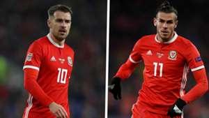 Aaron Ramsey Gareth Bale Wales