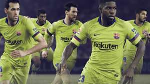 Barcelona 2018-19 away kit