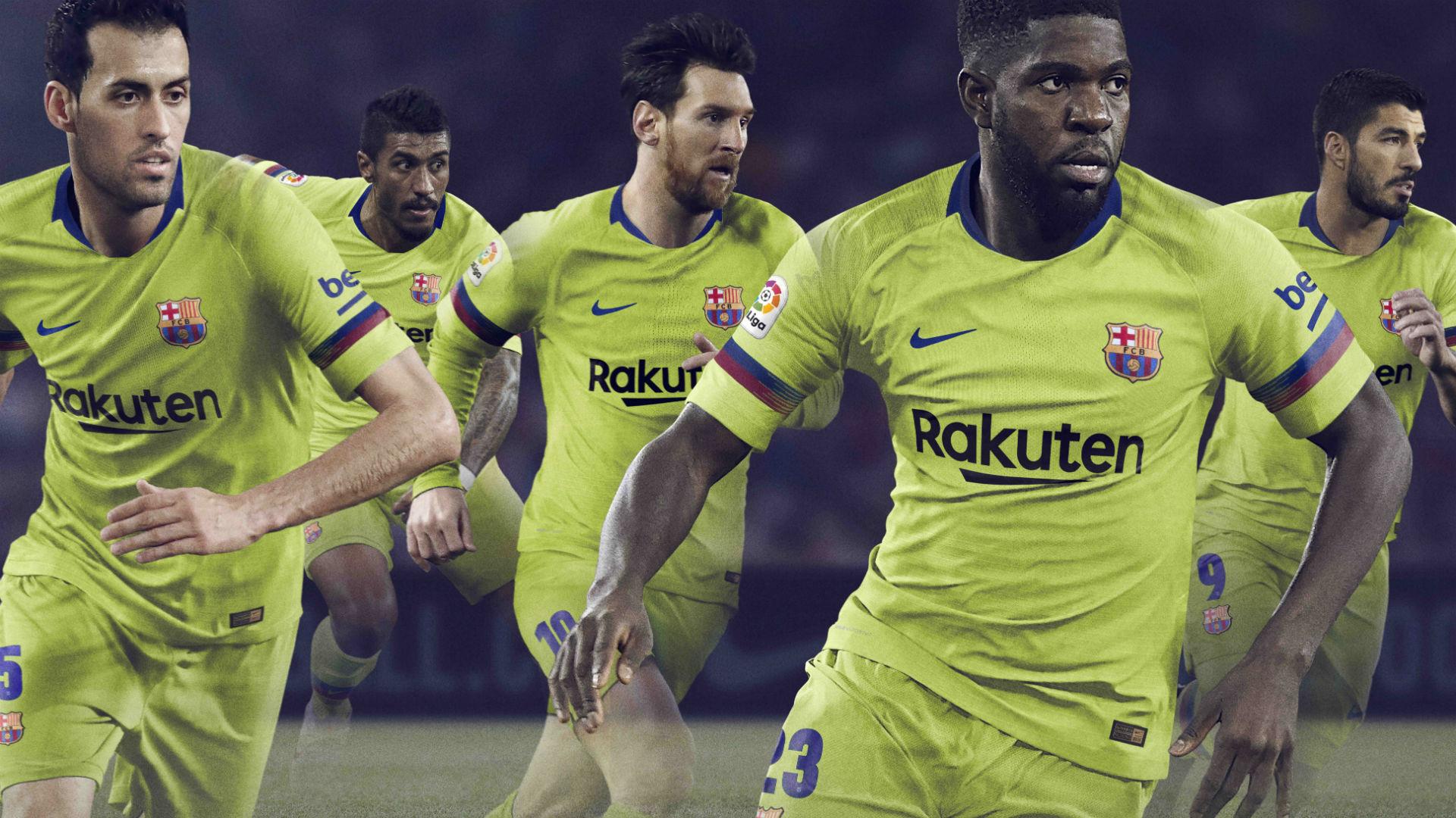 Barcelona 2018-19 away kit
