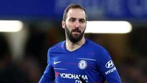 Gonzalo Higuain Chelsea 2018-19