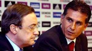 Florentino Pérez Carlos Queiroz Real Madrid 2003 18 06 2018
