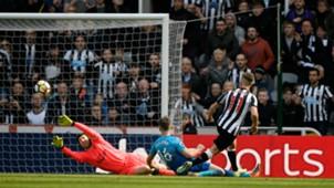 Newcastle goal Arsenal