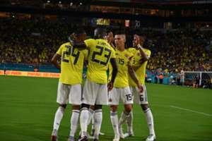 Colombia gol vs Venezuela Amistoso 2018
