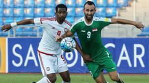 Justin Hikmat Azeez Abdulaziz Hussain Haika Iraq UAE WC Qualifiers 05092017