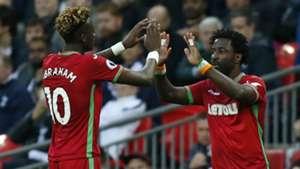 Tammy Abraham, Wilfried Bony - Swansea City