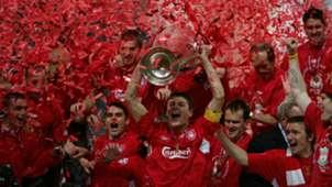 Steven Gerrard Liverpool Champions League 2004-05