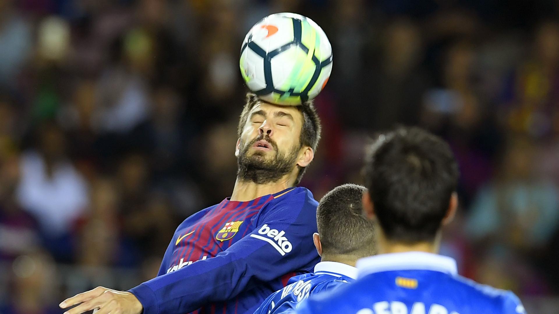 Gerard Pique Barcelona Espanyol La Liga