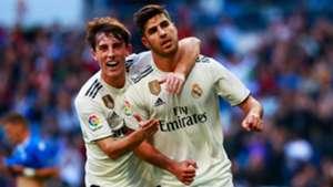 Alvaro Odriozola Marco Asensio Real Madrid Melilla Copa del Rey 06122018
