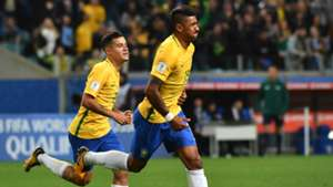 Paulinho Philippe Coutinho Brazil World Cup qualifying
