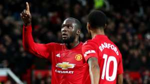 Romelu Lukaku Marcus Rashford Man Utd 2018-19