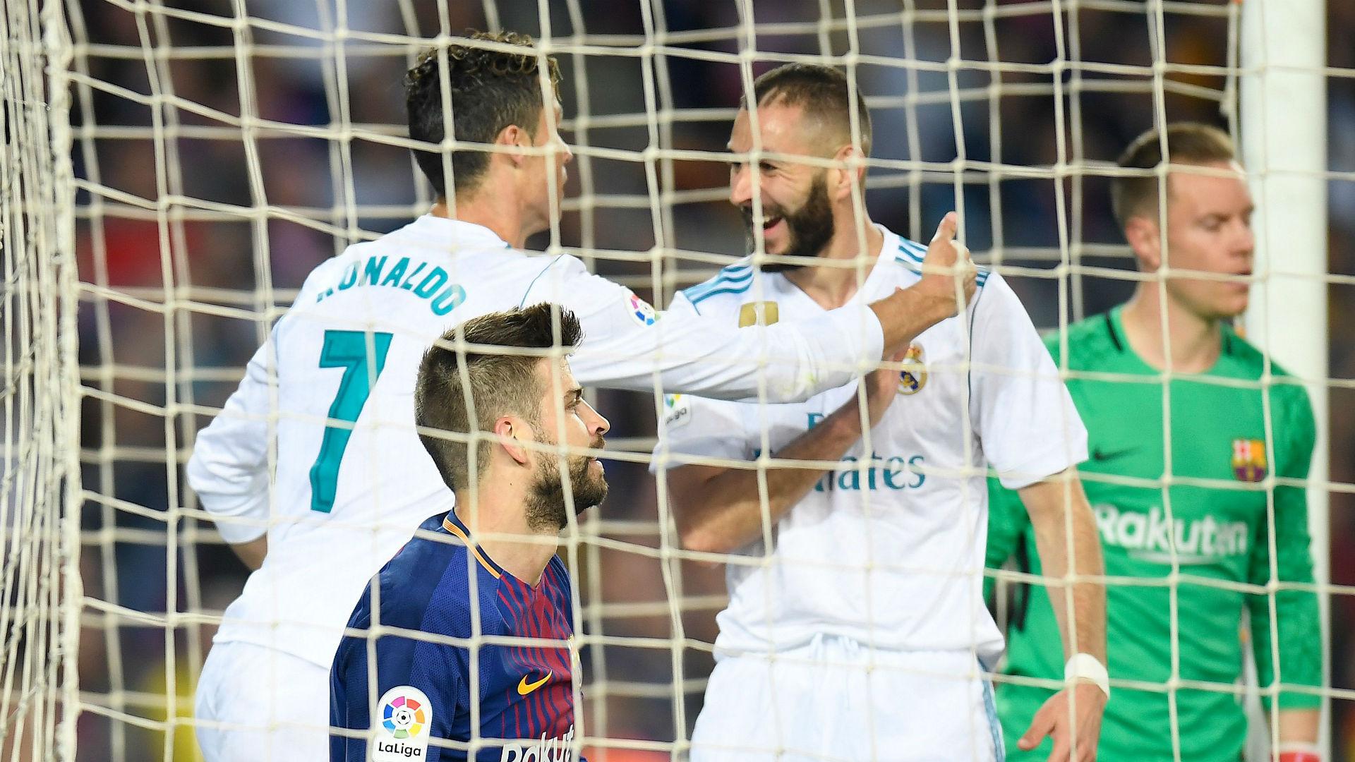 Cristiano Ronaldo Karim Benzema Barcelona Real Madrid 060518
