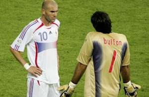 Zinedine Zidane France Gianluigi Buffon Italy FIFA World Cup 2006 Final