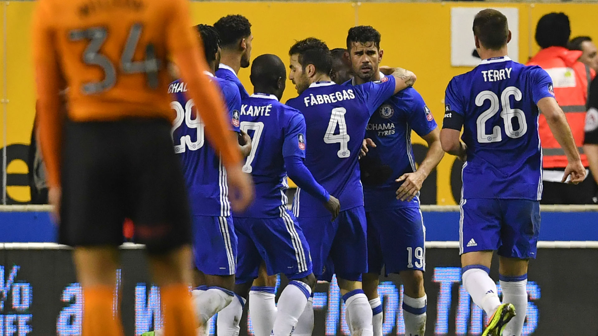 Wolves Chelsea FA Cup Diego Costa