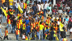 Gokulam Kerala fans I-League 2017-18