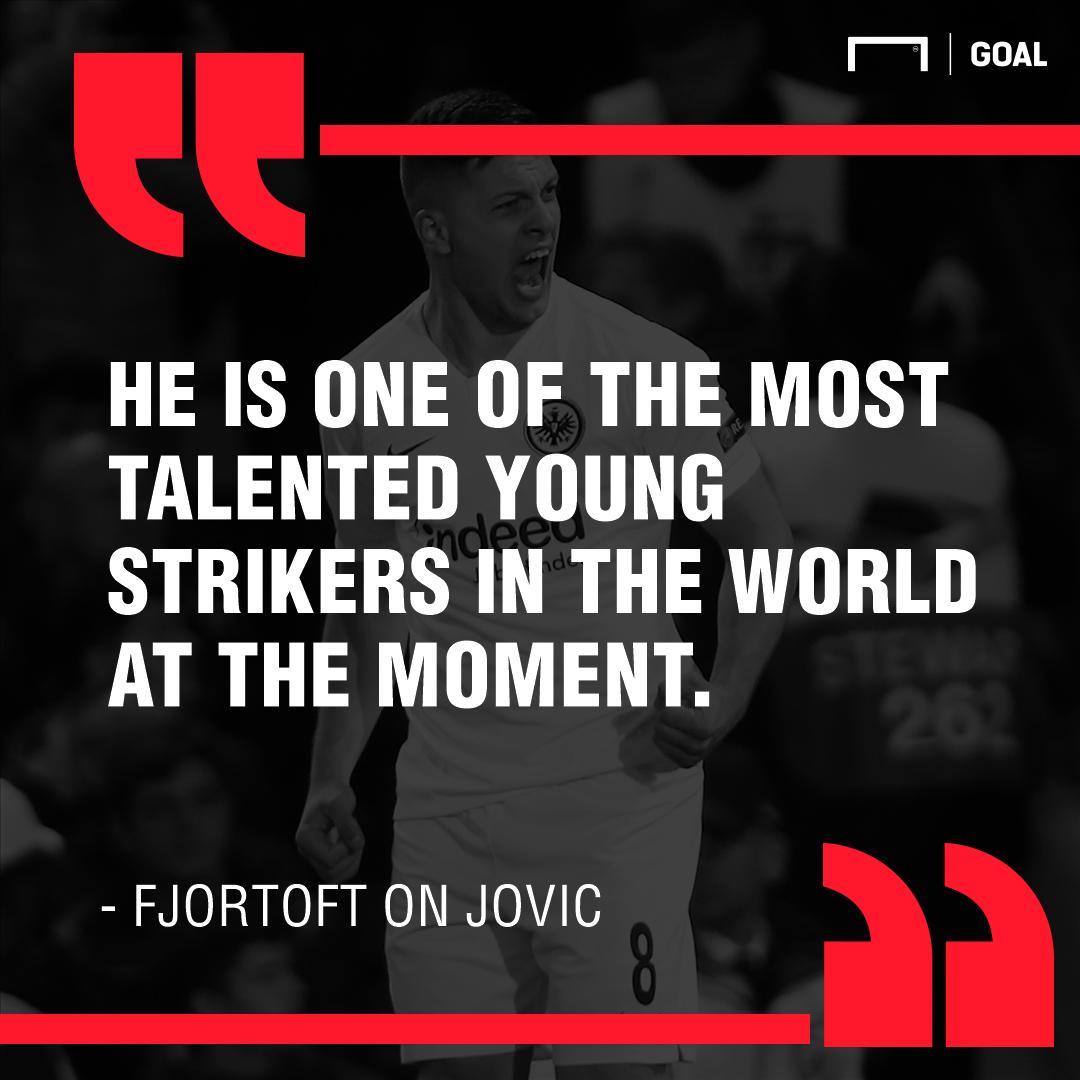 GFX Fjortoft on Jovic