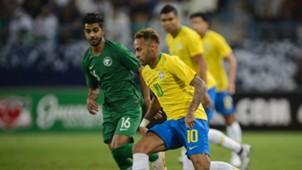 Neymar Al Mogahwi Saudi Arabia Brazil Friendly 12102018