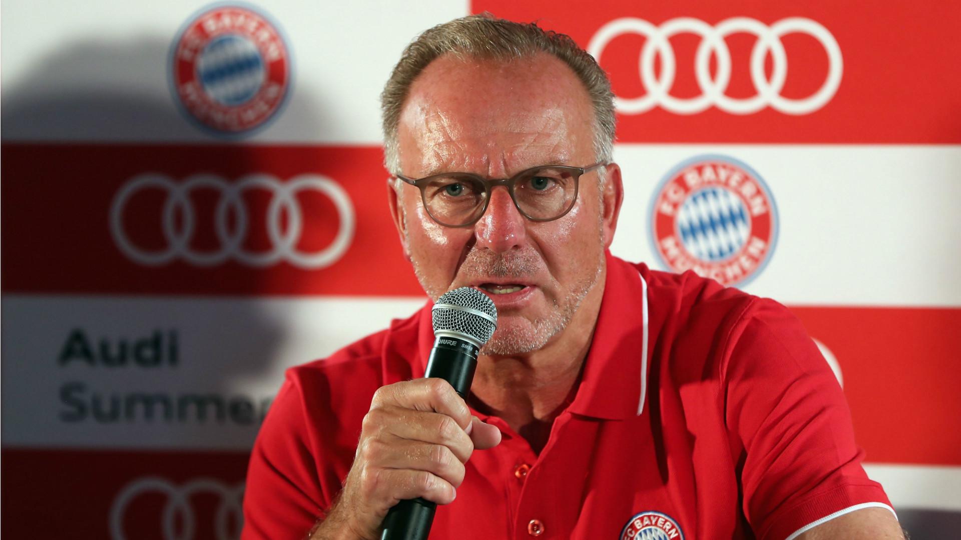 Karl-Heinz rummenigge FC Bayern 29082018