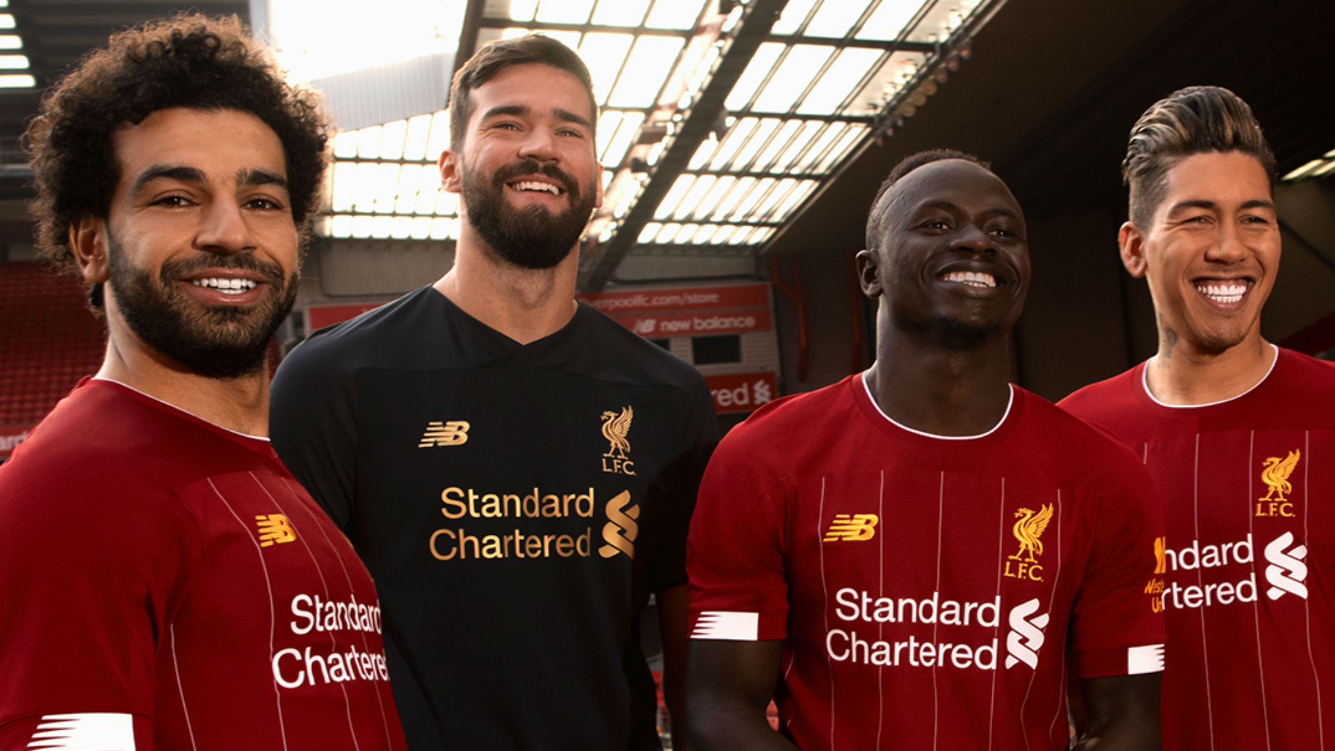 Liverpool launch incredible new home kit ahead of the 2019/20 season