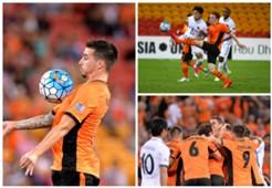 Jamie Maclaren Corey Brown Brisbane Roar v Kashima Antlers AFC Champions League 12042017