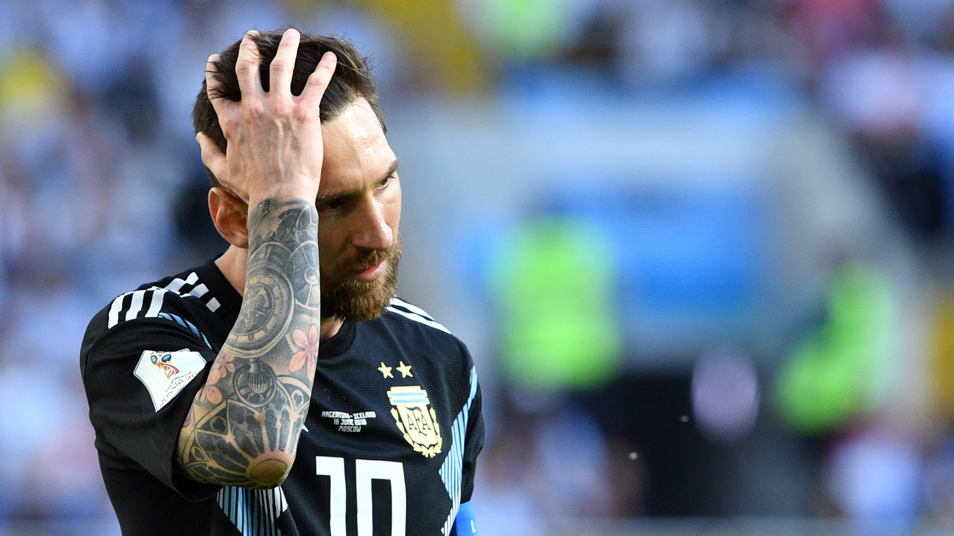 Lionel Messi Argentina Iceland World Cup 2018