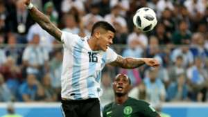 Marcos Rojo Argentina Nigeria World Cup 260618