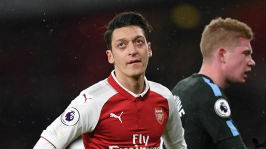 Mesut Ozil Kevin de Bruyne Arsenal Manchester City