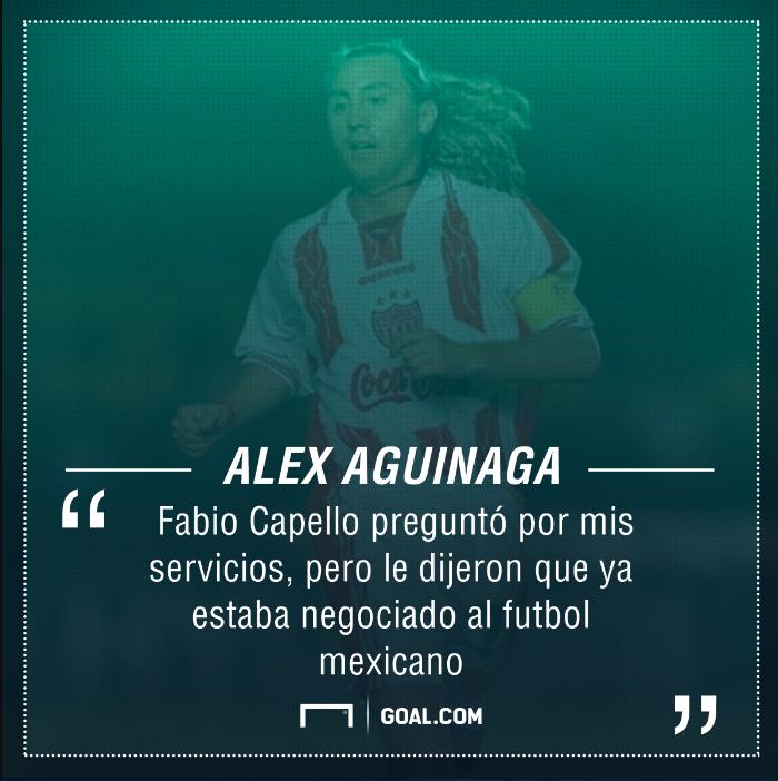 Afiche Alex Aguinaga