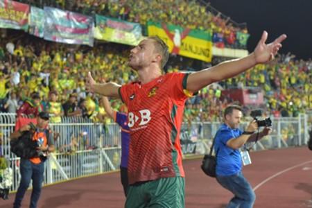 Zac Anderson Kedah Malaysia FA Cup 11032017