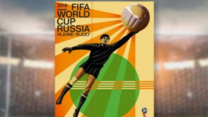 2018 Russia FIFA World Cup poster