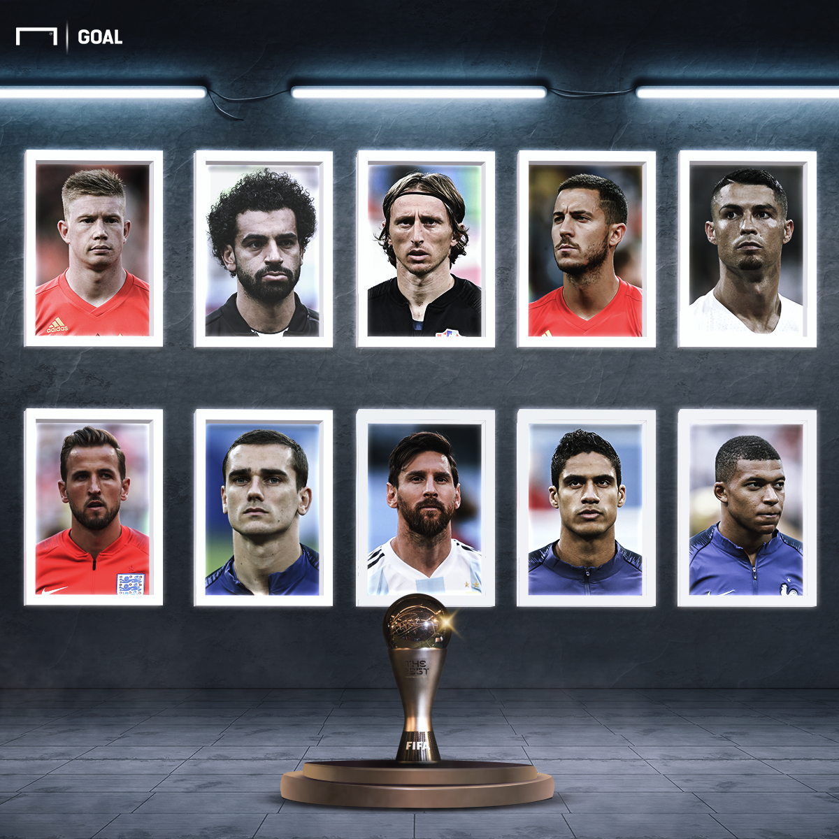 FIFA The Best Player of the Year Nominees