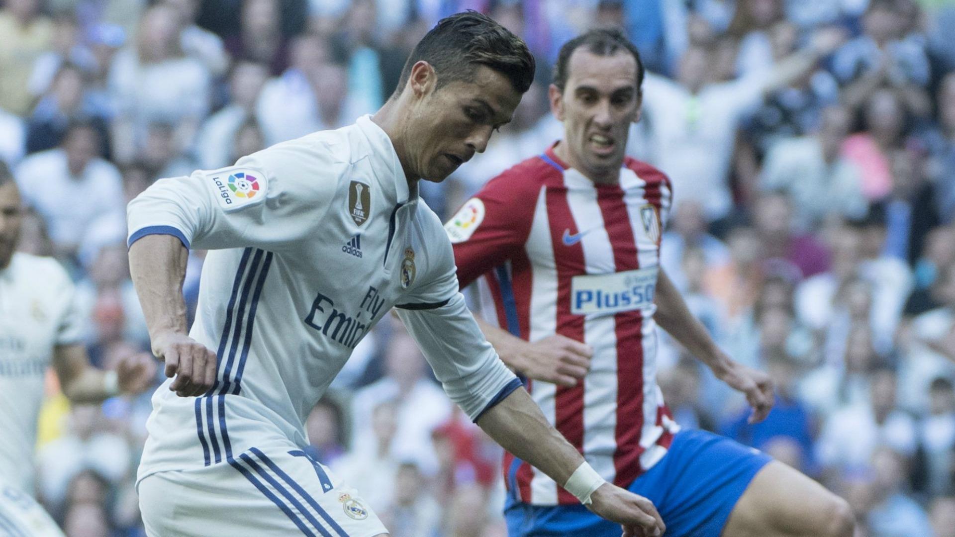 Cristiano Ronaldo Godin Real Atletico Madrid