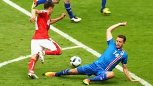 Kari Arnason - Iceland vs Austria