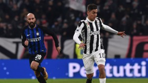Borja Valero, Paulo Dybala, Juventus, Inter, Serie A, 09122017